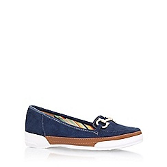Anne Klein - Blue 'tameron6' flat slip on loafer