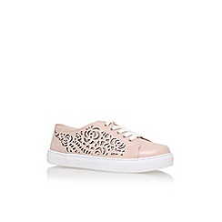 Carvela - Natural 'Jemm' flat lace up sneakers
