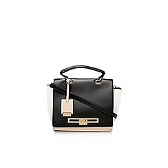 Carvela - Black 'jasmine' lock bag large handbag with shoulder strap