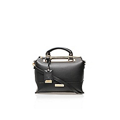 Carvela - Black 'edee' structured bag zip up tote babe