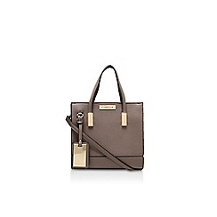 Carvela - Brown 'Julia mini tote' handbag with shoulder strap
