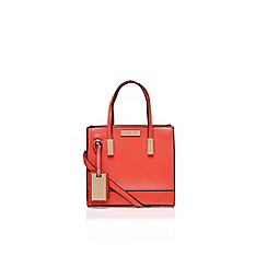 Carvela - Orange 'julia' mini tote handbag with shoulder strap