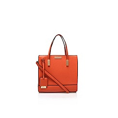 Carvela - Orange 'Juliet' large handbag with shoulder strap