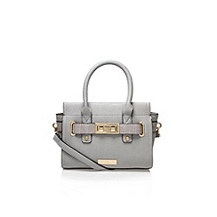 Carvela - Grey 'Jo' medium handbag with shoulder strap