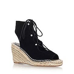 KG Kurt Geiger - Black 'Marine' high heel sandal