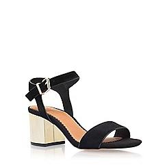 KG Kurt Geiger - Black 'Nora' high heel sandal