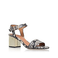 KG Kurt Geiger - Brown 'Nora' high heel sandals