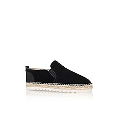 Nine West - Black 'noney' flat espadrille sneaker
