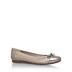 Anne Klein - Gold 'adene3' flat ballerina shoe