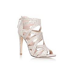 Lipsy - Gold 'Margot' high heel sandal
