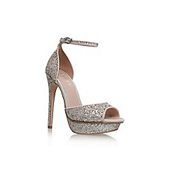 Lipsy - Silver 'Molly' high heel sandal