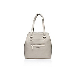 Nine West - Grey 'Festival Tote Lg handbag' with shoulder strap