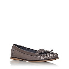 Carvela - Grey 'Mock' flat loafers