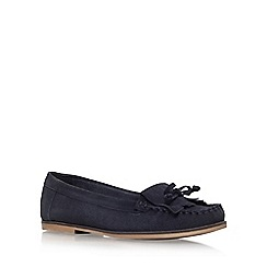 Carvela - Blue 'Mock' flat loafers