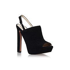 Nine West - Black 'lailah' high heel slingback shoe