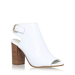 Carvela - White 'Assent' high heel sandals