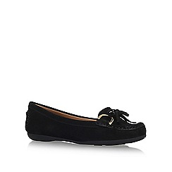 Carvela Comfort - Black 'Cally' flat slip on loafers