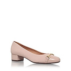 Carvela Comfort - Natural 'annie' low heel court shoe