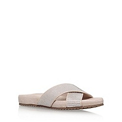 Carvela Comfort - Natural 'Summer' flat sandal