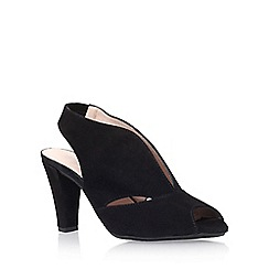 Carvela Comfort - Black 'Arabella' high heel sandal