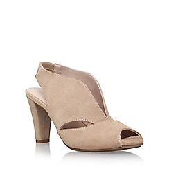 Carvela Comfort - Natural 'Arabella' high heel slingback shoe