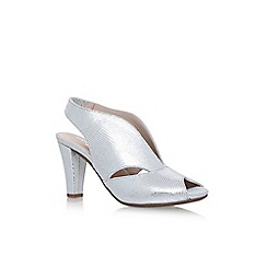 Carvela Comfort - Silver 'Arabella' high heel sandals