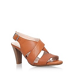 Carvela Comfort - Brown 'Alison' high heel sandal