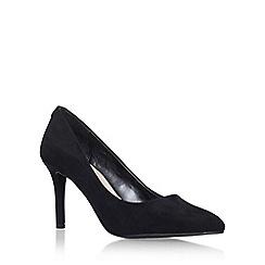Carvela - Black 'Aubrey' high heel court shoe
