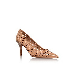 Nine West - Brown 'kaydence' high heel court shoe