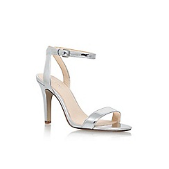 Nine West - Silver 'Aniston' high heel sandal