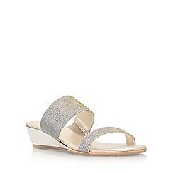 Carvela Comfort - Grey 'Stella' low heel sandal