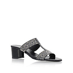 Carvela Comfort - Black 'Suzy' high heel sandals