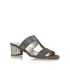 Carvela Comfort - Grey 'Suzy' high heel sandals
