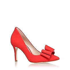 KG Kurt Geiger - Red 'belle' high heel court shoe