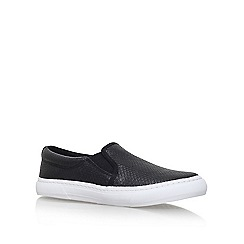 Miss KG - Black 'kellie' flat slip on sneaker