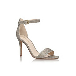Nine West - Gold 'Mana2' high heel sandals