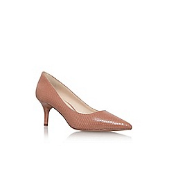 Nine West - Brown 'margot' high heel court shoe