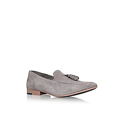 KG Kurt Geiger - Grey 'denton' tassel loafer