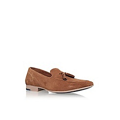 KG Kurt Geiger - Tan 'denton' tassel loafer