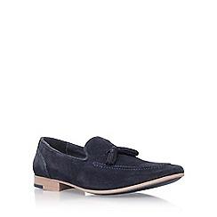 KG Kurt Geiger - Blue 'Denton' slip on loafers
