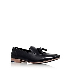 KG Kurt Geiger - Black 'Dewsbury' flat tassel loafer