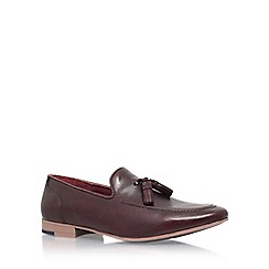 KG Kurt Geiger - Red 'Dewsbury' slip on loafers