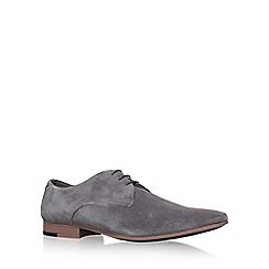 KG Kurt Geiger - Grey 'Dorchester' lace up smart shoes