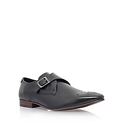 KG Kurt Geiger - Black 'Daventry' low heel monk shoe