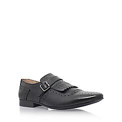 KG Kurt Geiger - Black 'Dovercourt' monk shoes