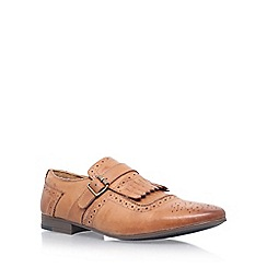 KG Kurt Geiger - Brown 'Dovercourt' monk shoes