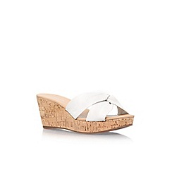 Carvela - White 'Susan' high heel sandal
