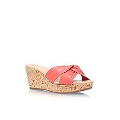 Carvela - Red 'Susan' slip on wedge