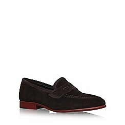 KG Kurt Geiger - Brown 'Darley' flat loafers