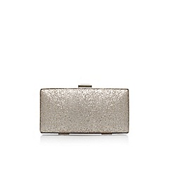 Miss KG - Gold 'Tabitha' clutch bag